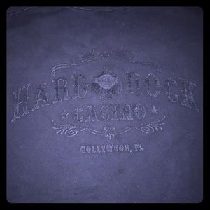 Vintage Hard Rock Casino Hotel Crew Sweater XXL